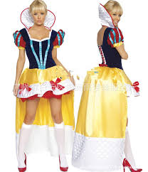 Halloween Costumes Snow White Lingerie Snow White Deluxe Halloween Dress Clothes Games Role
