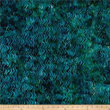 kaufman artisan batiks tiger fish peacock for sea or water