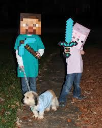 Mine Craft Halloween Costumes by Harris Sisters Girltalk Diy Minecraft Pig Costume
