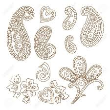 simple pattern tattoo designs fantastic and simple paisley pattern tattoo design golfian com