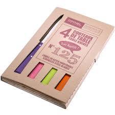 buy opinel bon apetit coloured table knives n 125 divertimenti