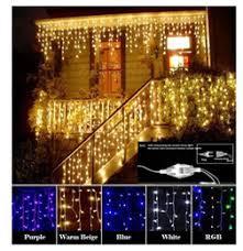 discount icicle net christmas lights 2017 led christmas icicle