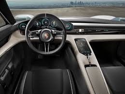 porsche 911 inside porsche mission e electric sports car concept is pack with some