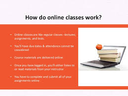 how to do an online class online classes explained