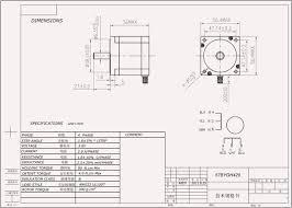 Stepper Motor Driver Wiring Diagram Hobbytronics Nema 23 Stepper Motor