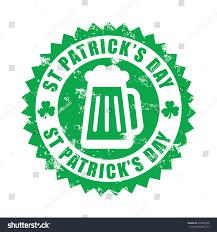 st patricks day grunge rubber stock vector 239950708