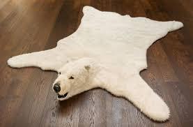 100 bear skin carpet white bear rug best rug 2017 bear skin