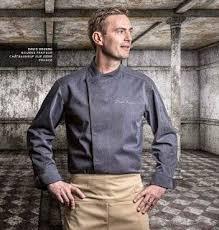 clement veste cuisine chaqueta para chef marca francesa clement design modelo murano