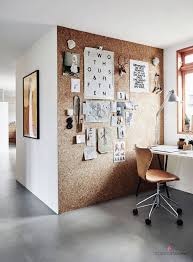 deco pour bureau un mur d inspiration en liège à proximité du bureau pour épingler