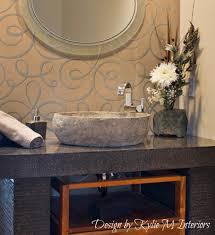 bathroom bathroom minimalist powder bathroom design round single