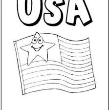 stars stripes coloring pages