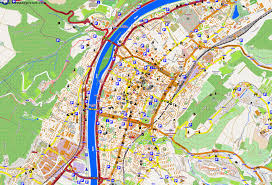 Kaiserslautern Germany Map by Large Trier Maps For Free Download And Print High Resolution And