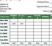 Free Timesheet Template Excel Excel Timesheet Templates Microsoft Office Templates And Add Ins