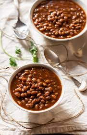vegetarian slow cooker baked beans my california roots