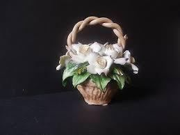 capodimonte basket of roses capodimonte collection on ebay