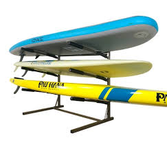 Free Standing Kayak Storage Rack Plans by Freestanding Sup Racks Paddleboard Floor Stands And Storage