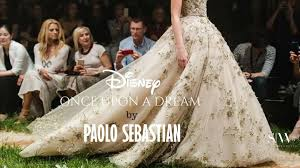 paolo sebastian wedding dress paolo sebastian s disney once upon a collection