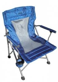 Beach Armchair Blue Folding Arm Chairs Foter