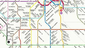 Dc Metro Rail Map by Could La U0027s Rail System Ever Look Like This Curbed La