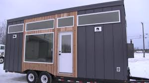 today you are in for a huge treat this open concept modern tiny