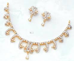 simple diamond set gold and diamond jewellery designs simple diamond necklace set