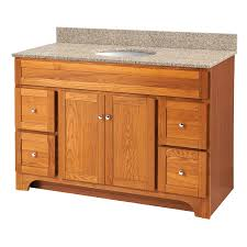Bathroom Vanity With Drawers by Foremost Wroa4821d Worthington 48 Inch Bathroom Vanity Oak