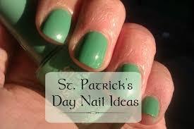saint patrick u0027s day nail designs bellatory