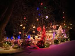 best 25 outdoor christmas light displays ideas on pinterest