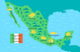Northern Mexico Map by A Guide To The Regional Cuisines Of Mexico Food Republic