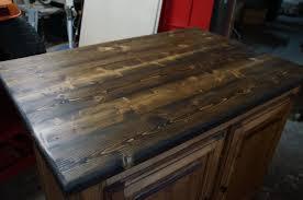 ilot de cuisine en bois ilot de cuisine en vieux bois mzaol com