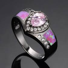 pink wedding rings jewelry rings pink wedding rings for women camo ringspink