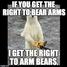 Right To Bear Arms Meme - chainsaw bear memes imgflip