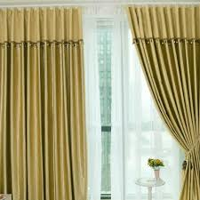 Gold Living Room Curtains Blackout Gold Living Room Polyester Curtains For Thermal Buy
