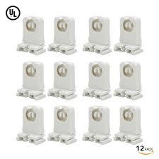 non shunted l holder 12 pack t8 t12 sockets l holder torchstar