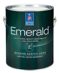 emerald interior acrylic latex paint sherwin williams