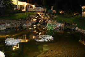 Aquascape Led Lighting Aquascape Landscape Led Pond Lighting Youngsville Wake Forest Raleigh