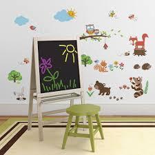 amazon com into the woods baby nursery decorative wall art amazon com into the woods baby nursery decorative wall art sticker decals baby