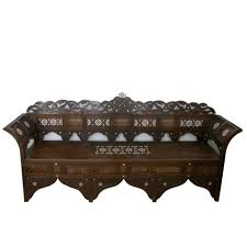 Oriental Sofa Table by Syrian Sofa Walnut Wood U0026 Inlaid Mother Of Pearl Repin If You