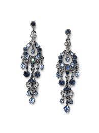 blue chandelier earrings zspmed of blue chandelier earrings vintage with additional