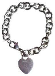 tiffany silver bracelet with heart images Tiffany co bracelets up to 90 off at tradesy jpg