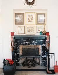 decor cheminee salon 10 pièces avec une cheminée en marbre bricobistro