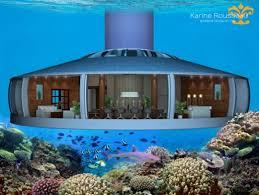chambre aquarium un projet fou bientôt possible habiter une maison sous marine