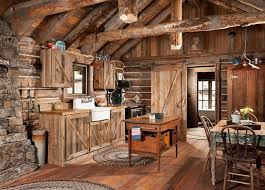 Cabin Kitchen Ideas Whitefish Montana Historic Cabin Remodel Rustic Rustic