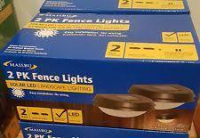 Solar Malibu Lights by Malibu Solar Dusk To Dawn Outdoor Lighting Ebay