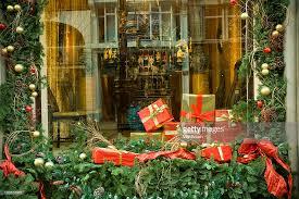 Christmas Ornaments Shop London by Christmas Shop Window Display On New Bond Street New Bond Street