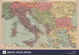 World Map 1940 by World War 2 Italian Istria Zara Lagosta Dodecanese Albania