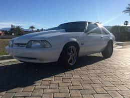 Black Fox Mustang Bangshift Com This Fox Body Mustang Sleeper Is A Roll Cage And