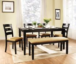 dining room prominent corner bench dining room table set