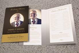 funeral programs templates free 15 modern funeral program templates