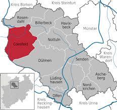 Frank Erwin Center Map Coesfeld U2013 Wikipedia